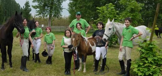 Il 'Green Team' alle Pradine - maggio 2013